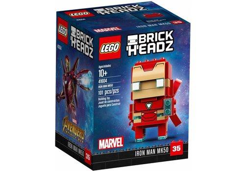 41604  BrickHeadz Iron Man MK50