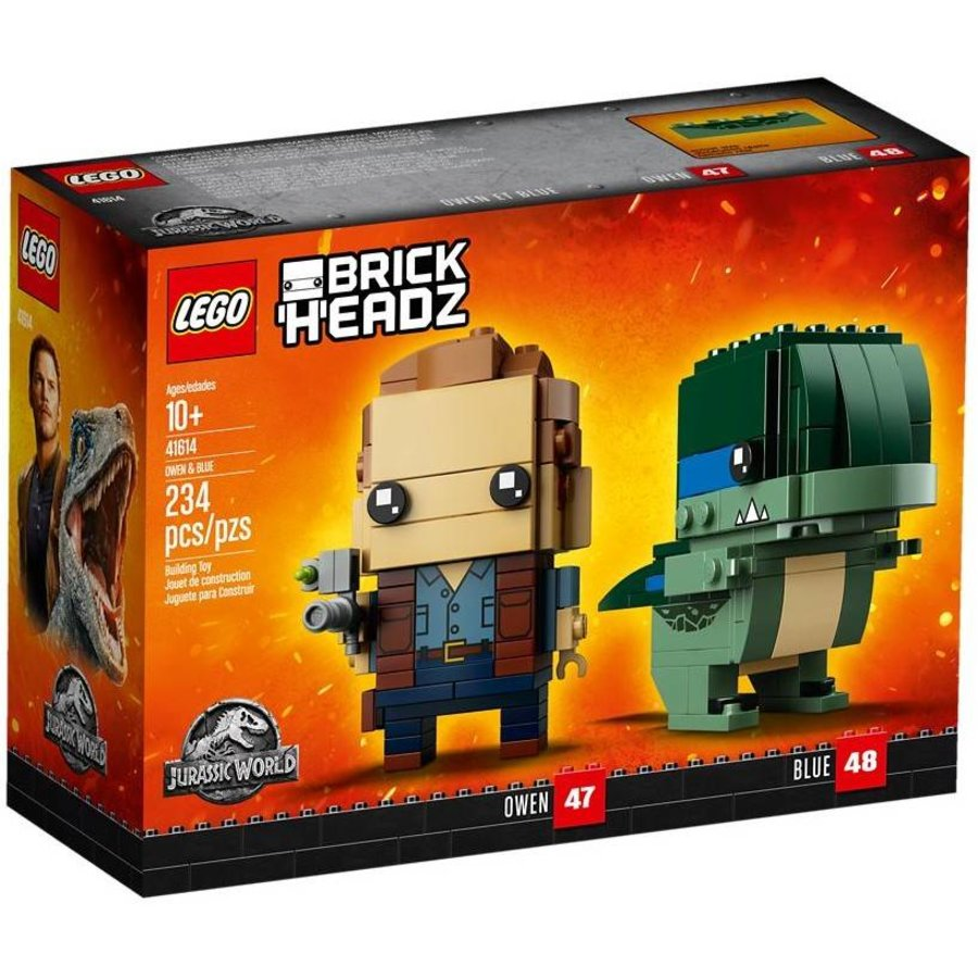 41614  BrickHeadz Owen en Blue