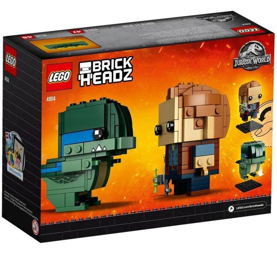 41614  BrickHeadz Owen en Blue