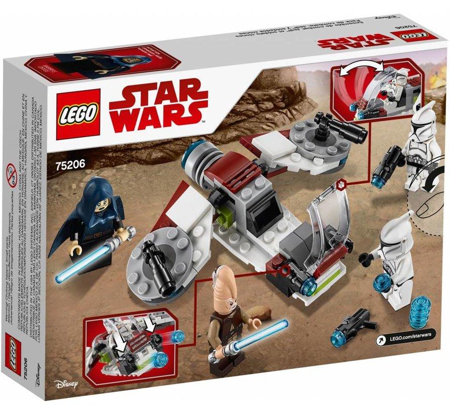 75206  Star Wars Jedi en Clone Troopers Battle Pack