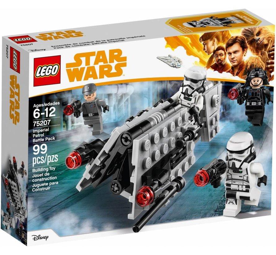 75207  Star Wars Keizerlijke patrouille Battle Pack