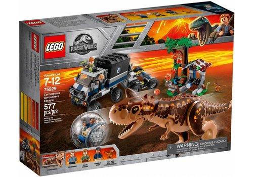 75929  Jurassic World Gyrobolontsnapping van Carnotaurus