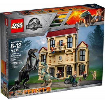 LEGO 75930  Jurassic World Indoraptorchaos bij Lockwood Estate