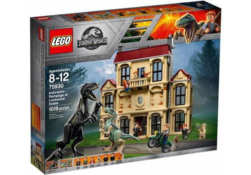 75930  Jurassic World Indoraptorchaos bij Lockwood Estate
