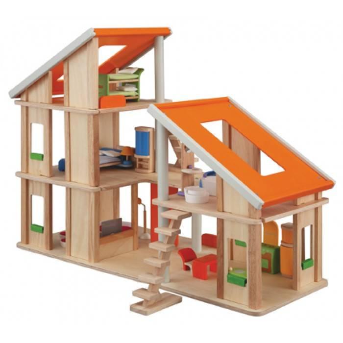 Plan Toys Chalet dollhouse & furniture - Plan Toys shop