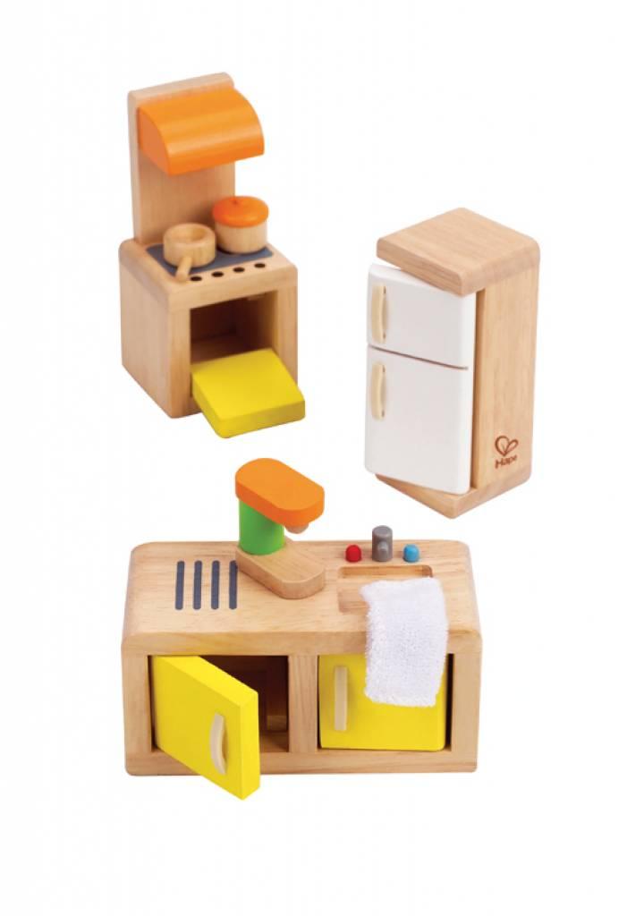 Kidkraft Keuken Onderdelen : hape e3453 houten keuken houten keuken voor je houten poppenhuis maak