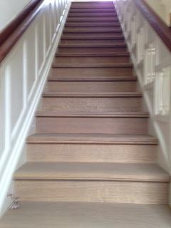 Renovatie open trap amazing een open trap moet een echte for Open trap renovatie