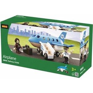 Brio Blaues Flugzeug 33306
