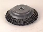 Wildkrautbürste 200 x Bo 25,4 Topfbürste - Zopfdraht für Freischneider und Motorsense