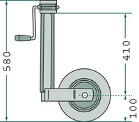 Anhänger-Ersatzteile Verschleißteile für PKW-Anhänger