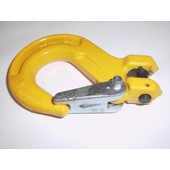Lasthaken + Sicherung u. Gabelkopf G8 für 10mm Forstkette oder Lastkette