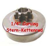 "Carving Kettenrad 1//4/"" Echo CS 280 CS 300 Spurkettenrad Kettensäge CS 290"