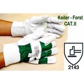 Keiler-Forst GR.08 - Forsthandschuh CAT.II Handschuh für Kettensägen-Führer