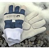 Keiler ECO Winter Gr. 10,5 Forsthandschuh dickes Acryl-Futter weiches Leder + Schirmseide CATII