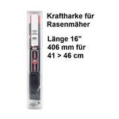 """Vertikutiermesser Kraftharke 16"""" für 41 > 46 Schnittbreite Mittelzentrierung + MTD Rasenmäher"""