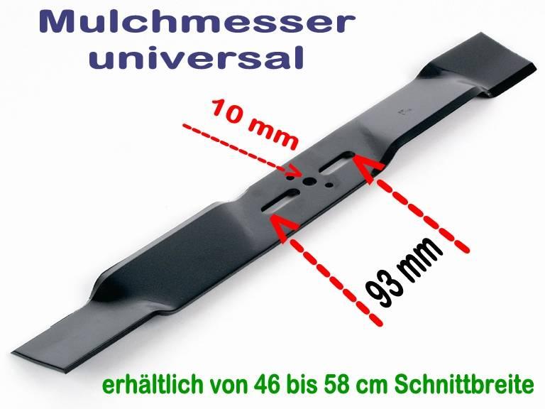 rasenm hermesser mulchmesser l 56 57 cm universal bei. Black Bedroom Furniture Sets. Home Design Ideas
