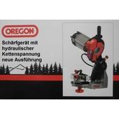 Sägekettenschärfgerät Oregon Schärfgerät mit. hydraulik Spannung und Selbstzentrierung incl. 3 Schärfscheiben