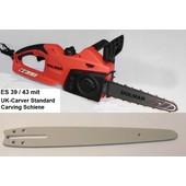Carvingsäge Dolmar ES-39 / 43 TLC 25cm Standard Schiene Elektro- Kettensäge Carving Holzschnitzen