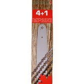 "Schneidgarnitur für Komatsu-Zenoah Schwert 50cm + 4 Ketten 0.325"" G410AVS G415AVS G455VS G500AVS"