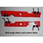 Vertikutiermesser Doppelfeder Kraftharke 40cm Honda Rasenmäher + Ersatzfedern für 41-46cm Schnittbreite