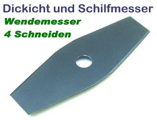 freischneidermesser 255 20 mm 2 zahn schilfmesser u dickichtmesser f r motorsense u. Black Bedroom Furniture Sets. Home Design Ideas