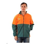 Forstjacke Waldarbeiterjacke Forest-Jack Soft-Shell Größe XL wasserabweisend leicht warm atmungsaktiv