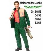 Forstjacke Waldarbeiter Jacke ohne Schnittschutz Forest-Comfort Gr. 62 / 64