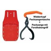 Forst Holster Werkzeugtasche Packzangentasche + Packzange mit Packhakengriff Tasche für Hebezange bis 200mm