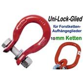 Verbindungsglied Forstkette pewag UniLock-Glied U10 Schäkel für Aufhängeglied u. 10mm Rückekette Lastenkette