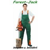 Forest-Jack Schnittschutzhose Gr.27 untersetzt Latzhose Schnittschutz A vorn Kl.1