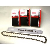 Schwert +3 Kette 1,1 OREGON 30cm  Nut STIHL E14  017 021 MS140 MS170 Kettensäge