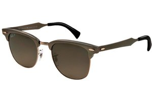 Ray-Ban zonnebril Clubmaster RB 3507 138/M8 Aluminium