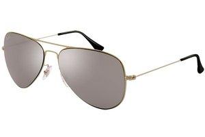 Ray-Ban zonnebril Aviator RB 3513 154/6G Flat Metal