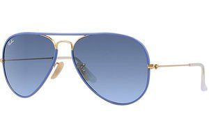 Ray-Ban zonnebril Aviator RB 3025JM 001/4M Full Color