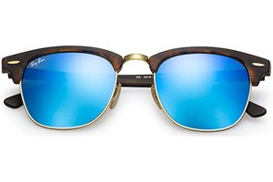 Ray-Ban zonnebril Clubmaster 3016 114517 Flash Lenses