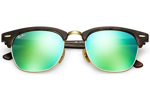 Ray-Ban zonnebril Clubmaster 3016 114519 Flash Lenses