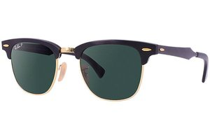 Ray-Ban zonnebril Clubmaster RB 3507 136/N5 Aluminium Polarized