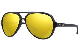 Ray-Ban zonnebril Cats 5000 RB 4125 601S/93 Flash Lenses