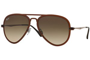 Ray-Ban zonnebril RB 4211 612213 Aviator Light Ray II
