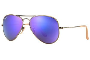 Ray-Ban zonnebril Aviator RB 3025 167/1M Flash Lenses