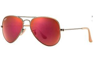 Ray-Ban zonnebril Aviator RB 3025 167/2K Flash Lenses