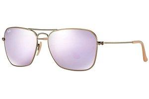 Ray-Ban zonnebril Caravan RB 3136 167/4K Flash Lenses