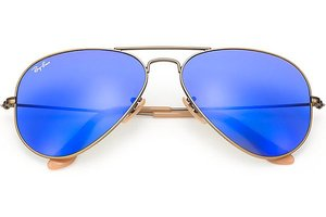 Ray-Ban zonnebril Aviator RB 3025 167/68 Flash Lenses