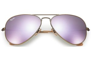 Ray-Ban zonnebril Aviator RB 3025 167/4K Flash Lenses