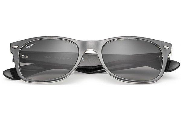ray ban new wayfarer review b06c  Ray-Ban zonnebril RB 2132 614371 New Wayfarer Metal Effect