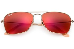 Ray-Ban zonnebril Caravan RB 3136 167/2K Flash Lenses