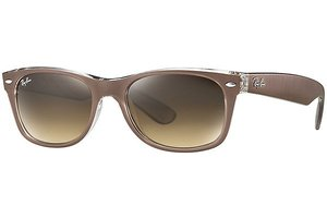Ray-Ban zonnebril RB 2132 614585 New Wayfarer Metal Effect