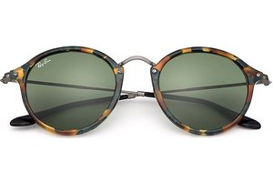 Ray-Ban zonnebril RB 2447 11594E Round Fleck