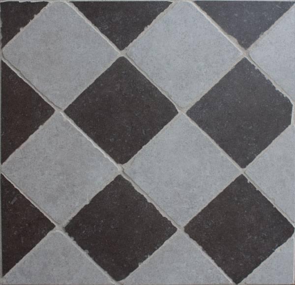 adkamer vloertegels: vloertegels zwart wit: wit vloertjes voor, Badkamer