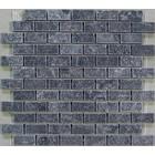 Gio Gres Marmer mozaiek Karia black 2,5 x 5 x 1 cm P/M²